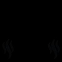 service fan icon - odor free
