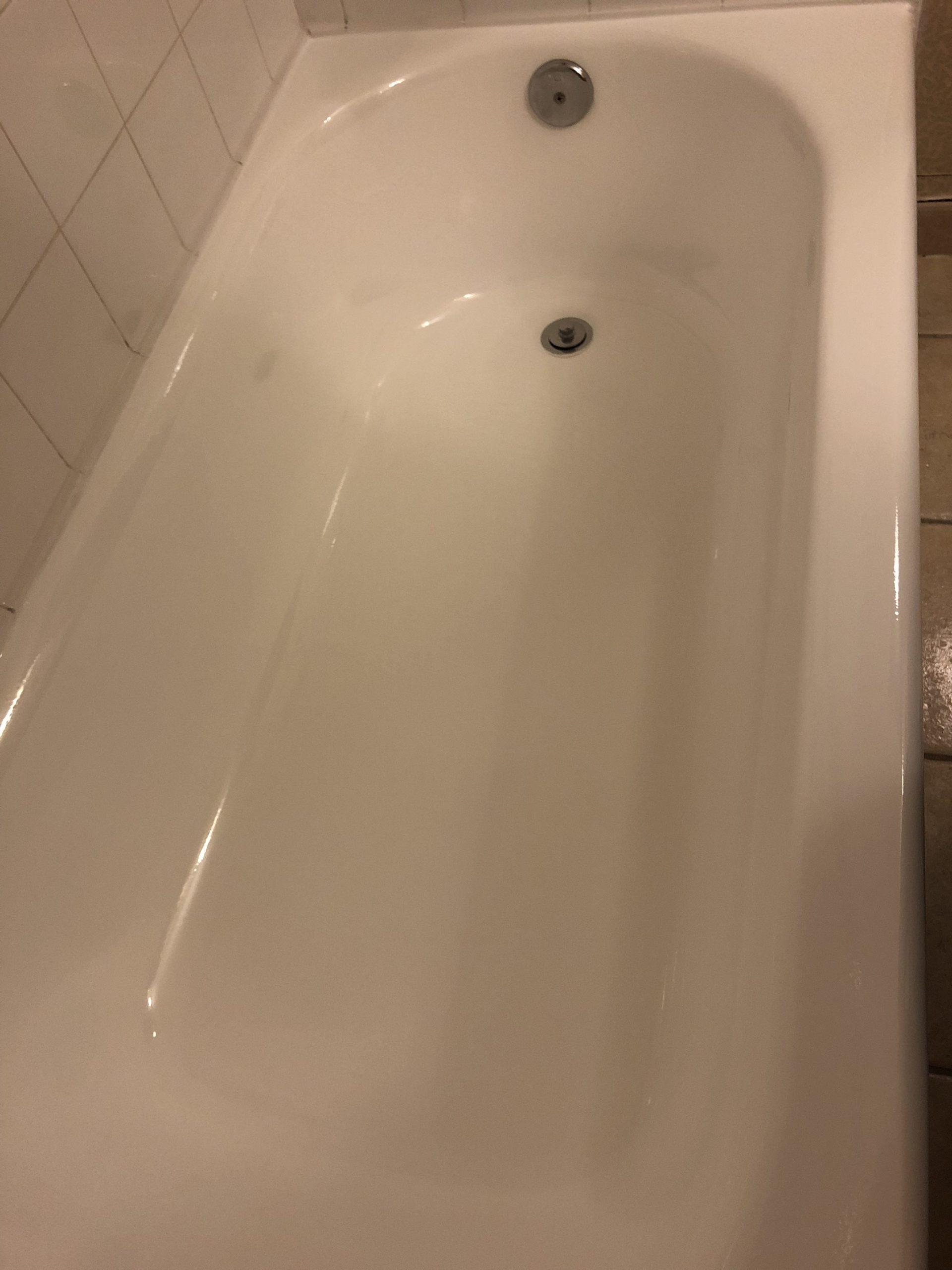 tub after shot