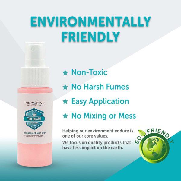 Tub Guard Transparent is Environmentally Friendly