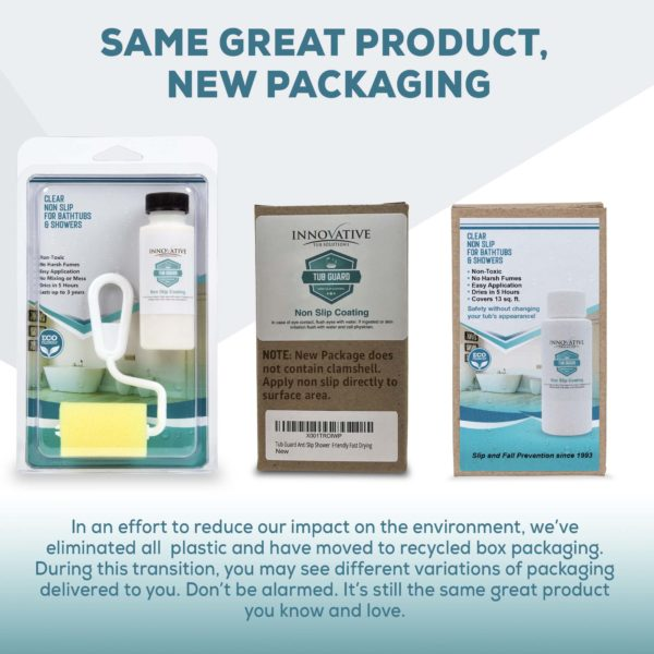 Same Great Product - New Packaging