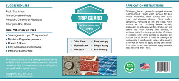 Trip Guard Label